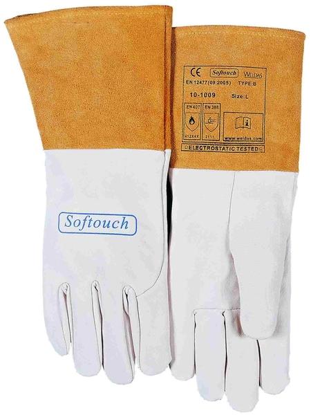 heiß-verkauf freiheit Super süße neuer & gebrauchter designer WELDAS Softouch WIG-Handschuhe 10-1009 Ziegenleder