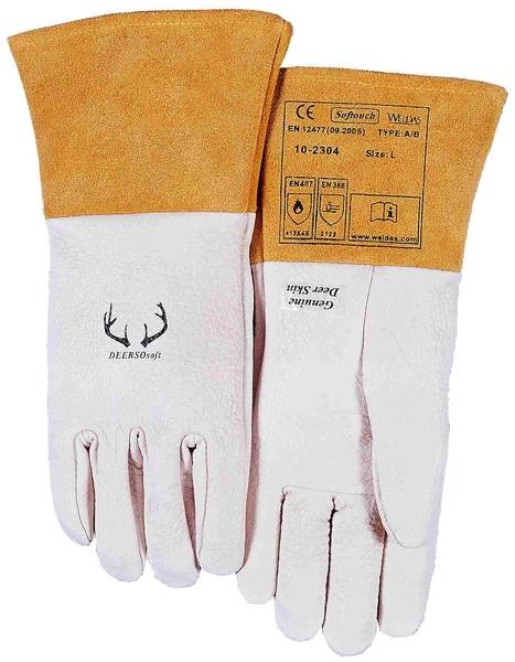 immer beliebt 100% authentifiziert populäres Design WELDAS Softouch WIG-Handschuhe 10-2304 Hirschleder