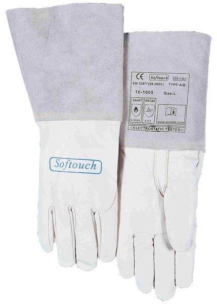 große Auswahl gute Textur guter Service WELDAS Softouch WIG-Handschuhe 10-1005 Kalbsleder
